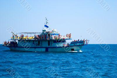 Promenade motor ships