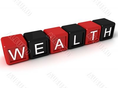 alphabets block of wealth