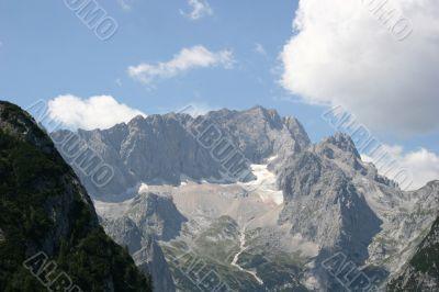 Alps - Zugspitze, Germanys highest mountain