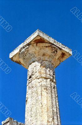 Doric order column