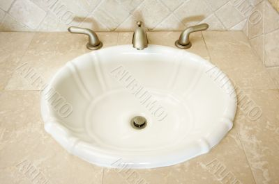 Shell Sink and Faucet