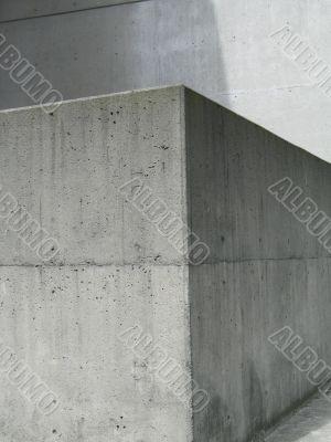 a grey exterior modern concrete wall