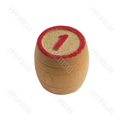 Barrel for lotto N1