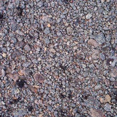 Surface of stony ground