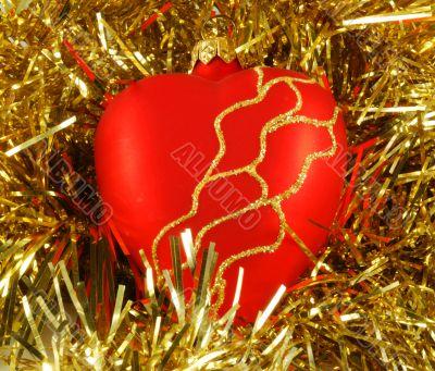 Preparation for christmas holidays, christmas-tree decorations