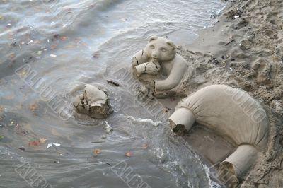 bear flood
