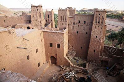 kasbah ait benhaddou house