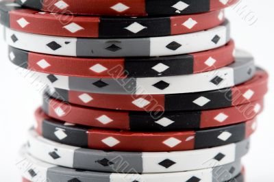A Stack of Poker Chips