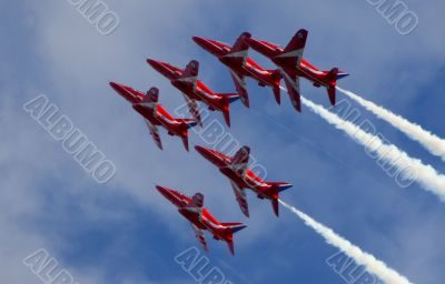 Red Arrow Display