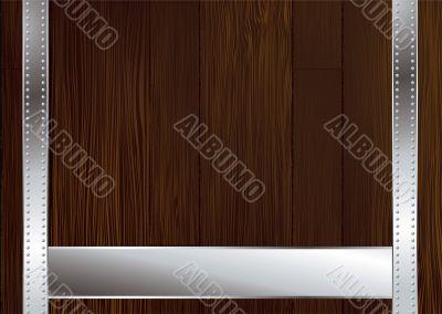 dark wood strap