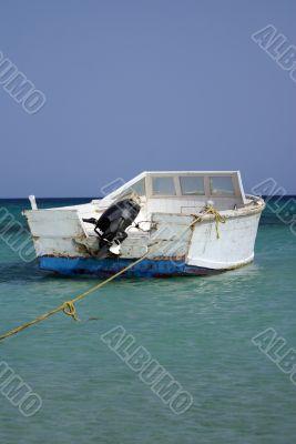 The boat near the shore