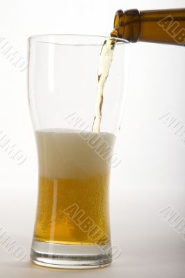 Poured Beer
