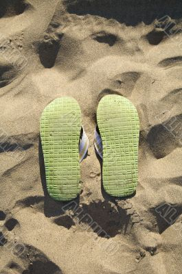 sole of flip-flop