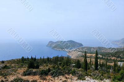 Kefalonia in Greece
