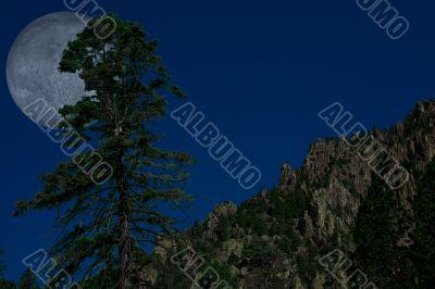 Mountain Moonrise