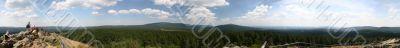 Panorama picture of mount Brocken