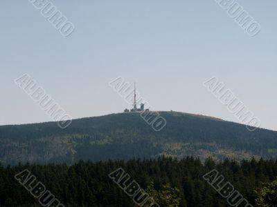 mount Brocken in the national park Harz
