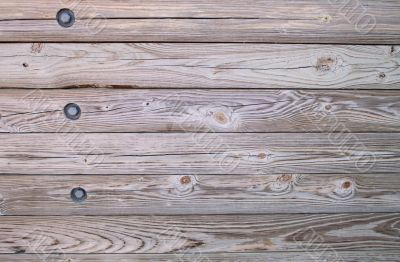 Wood with Bolts