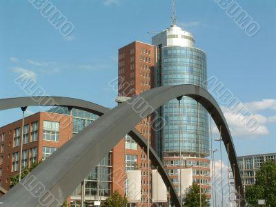 Hamburg in Germany with Hafencity