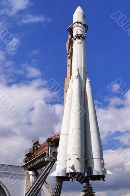 Space rocket. Vostok.
