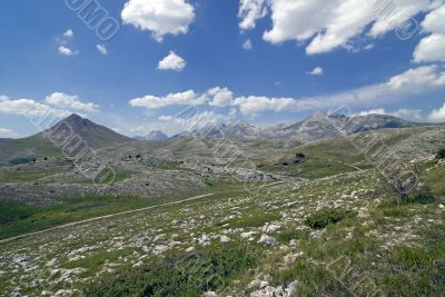 Campo Imperatore at summer