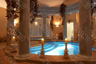 Spa with Roman Columns