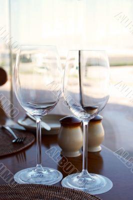 A nice semi-formal table setting.