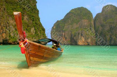 Boatin lagoon
