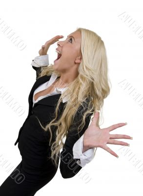 shouting female