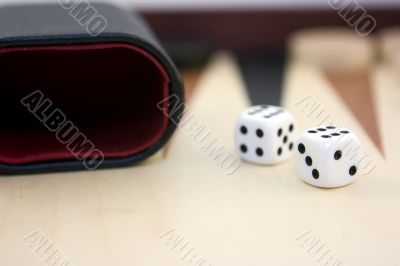 Dices on board