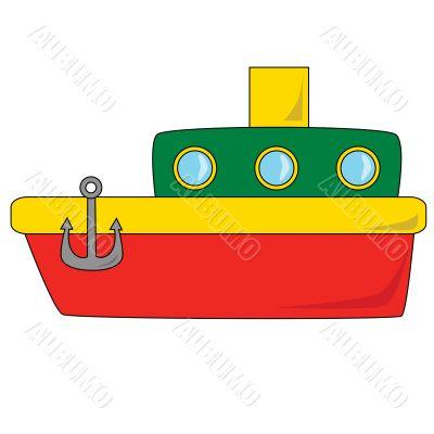 Cartoon Boat
