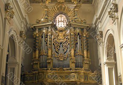 L`Aquila - Organ in the San Bernardino church