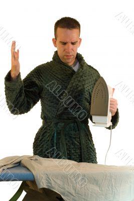 Ironing Male