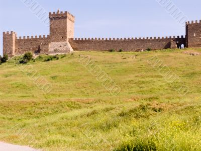stronghold of genoese