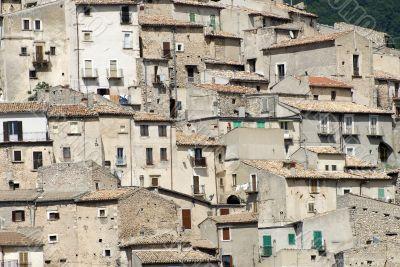 Old houses of Castel del Monte