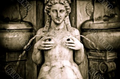 Stone Woman`s Breasts