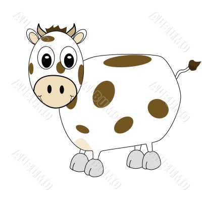 Cartoon cow 1