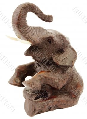 Statuette of elephant