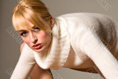 Paris Hilton look-a-like close up