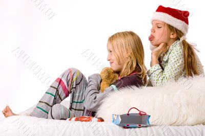 Christmas fight sadness