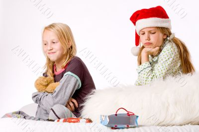 Christmas fight depressed