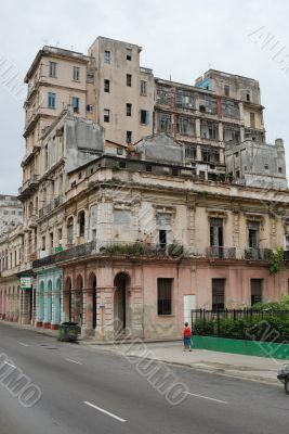 Old Houses of Havana, Cuba