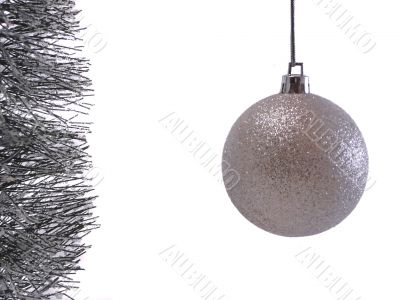 Christmas Ornaments with Branch