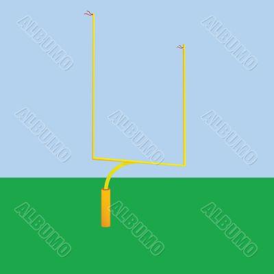 Football goal post