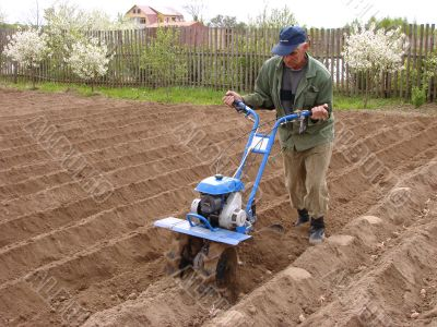 soil cultivation