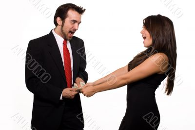 Financial dispute