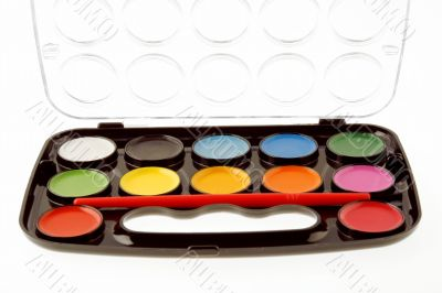 Watercolor palette set