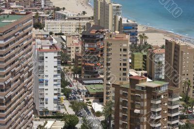Benidorm. A resort of Spain