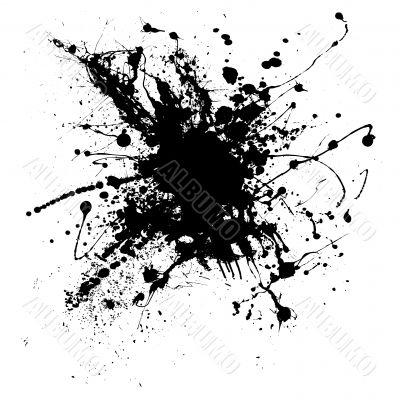 ink splatter one