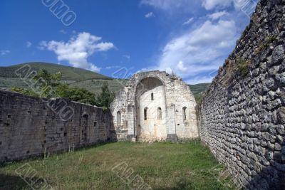 Ruins of a church near Foligno
